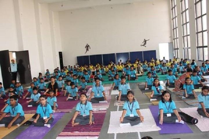 Radhika Educare School-Yoga