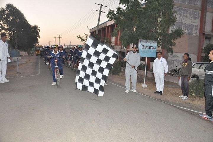 Sainik School-Cycling Expedition