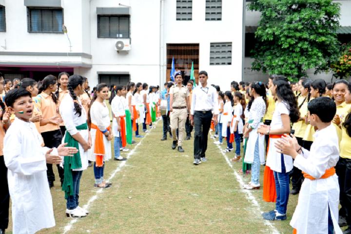 Samithi English Medium School-Independence Day