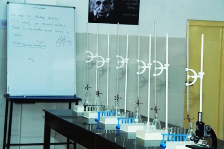 Santokba English Medium School-Chemistry Lab