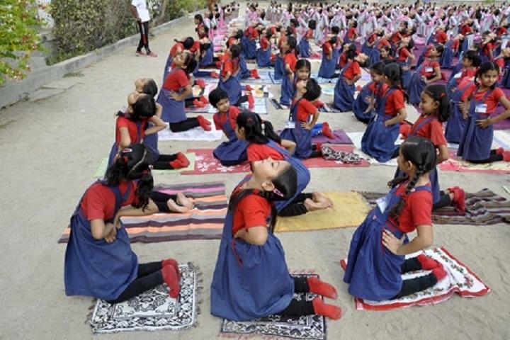 Santokba English Medium School-Yoga