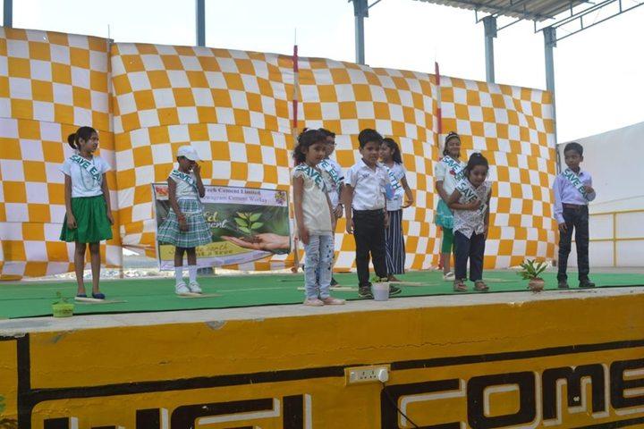 Sardar Patel Vidyalaya-Dancing Activity