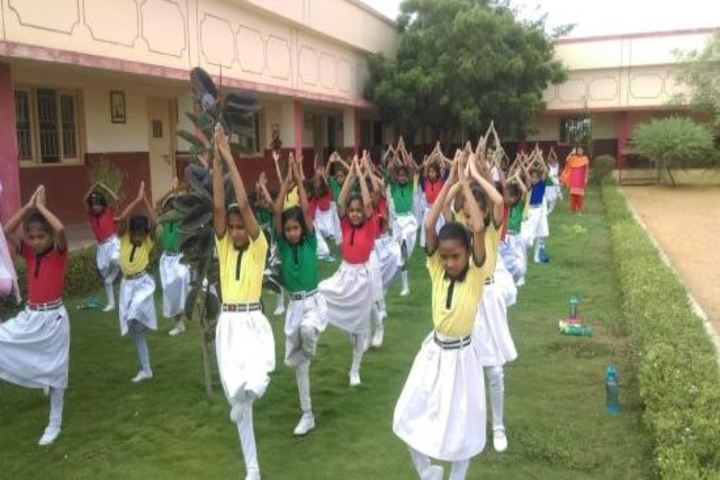Sardar Patel Vidyalaya-Yoga Day