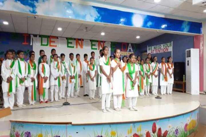 Sardar Patel Vidyalaya-Independence Day