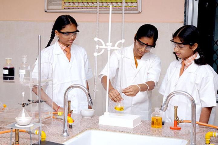 Sarvanaman Vidya Mandir-Chemistry Lab
