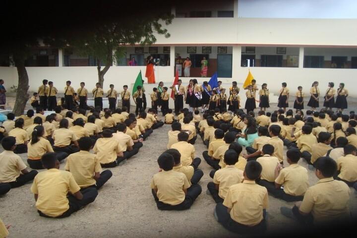 Sathyam Mission School-Assembly