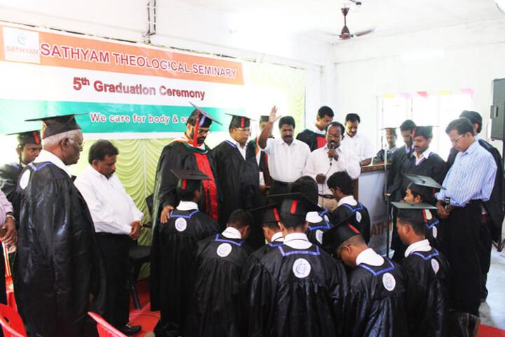 Sathyam Mission School-Graduation