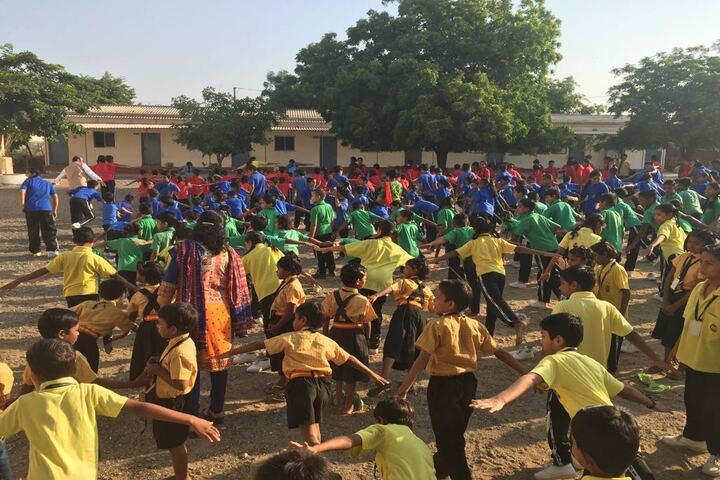 Sathyam Mission School-Yoga