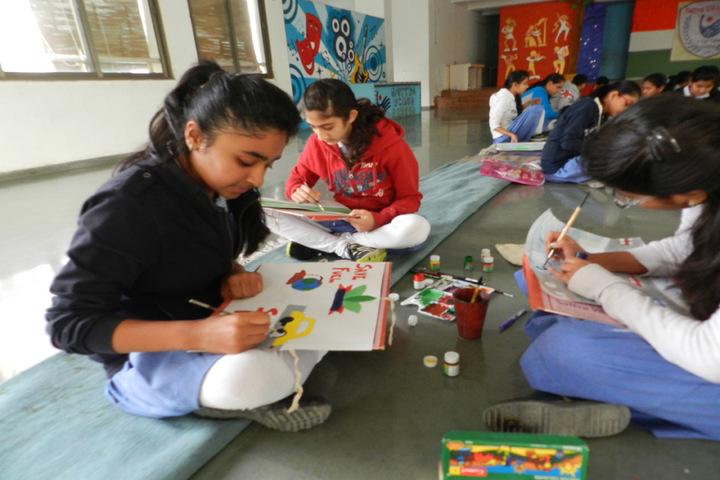 Sattva Vikas School-Arts and Craft