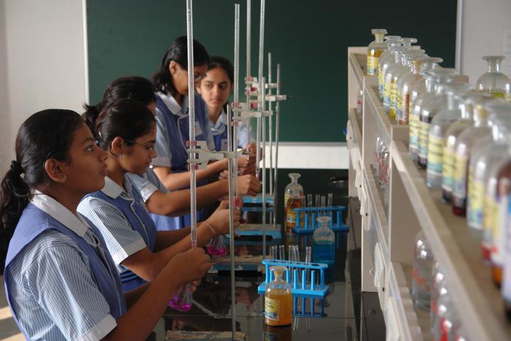 Sattva Vikas School-Chemistry Lab