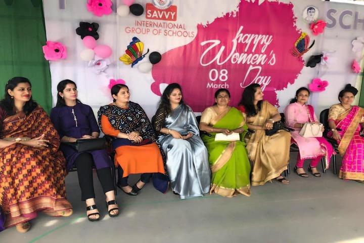 Savvy International School-Womens Day