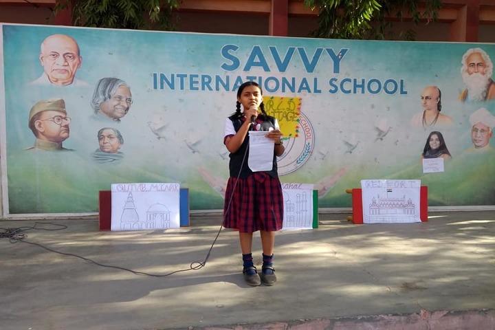 Savvy International School-World Heritage Day