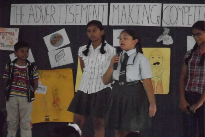 Shannen Kids School-Advertisement Making Competition