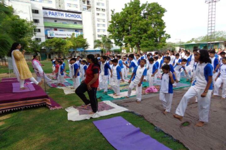 Shannen Kids School-Yoga Day