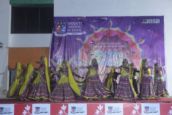 Shanti Asiatic School-Cultural Fest