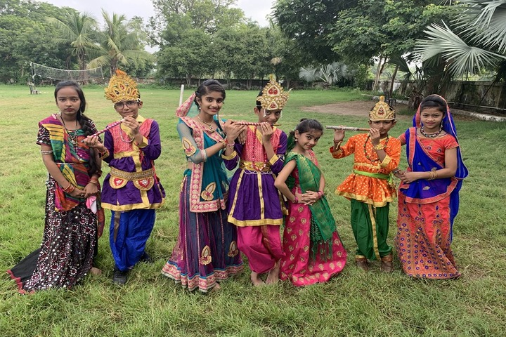 Shanti Asiatic School-Krishnastami Celebrations