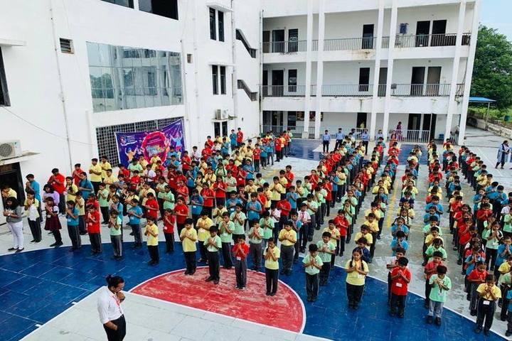 Shanti Asiatic School-Morning Assembly