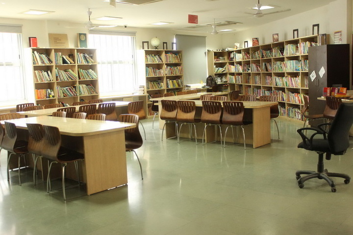 Shanti Asiatic School-Library
