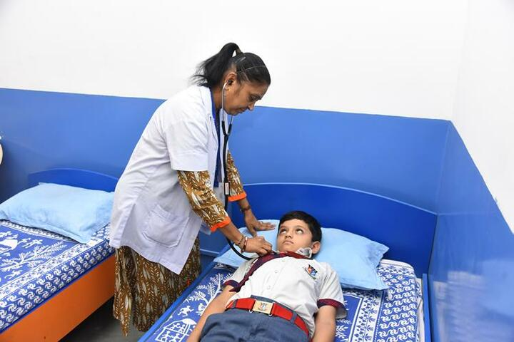 Shanti Asiatic School-Medical Care