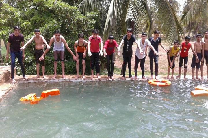 Shardagram English School-Swimming Pool