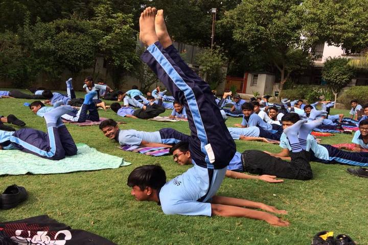 Shayona International School-Yoga