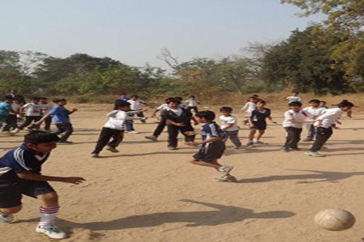 Sheth C N English Medium School-Play Ground