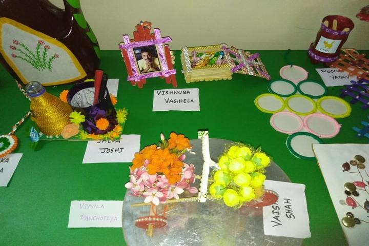 Shiv Ashish School-Art and Craft Exhibition