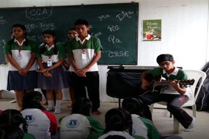 Shiv Ashish School-Music Room
