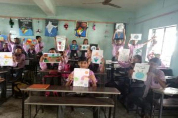 Shree M K Mehta English Medium School-Drawing Competition