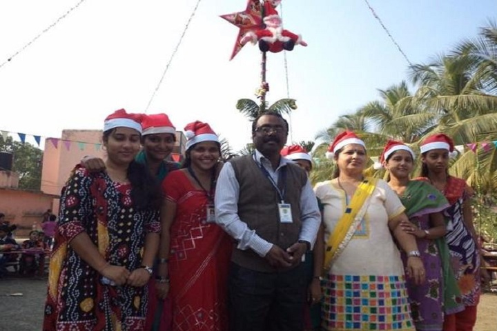 Shree M K Mehta English Medium School-Christmas Celebrations