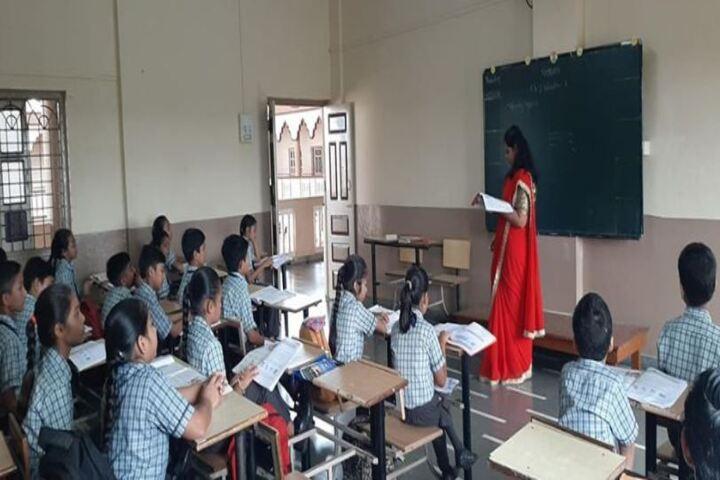 Shree Radhagovind Vidyamandir-Classroom