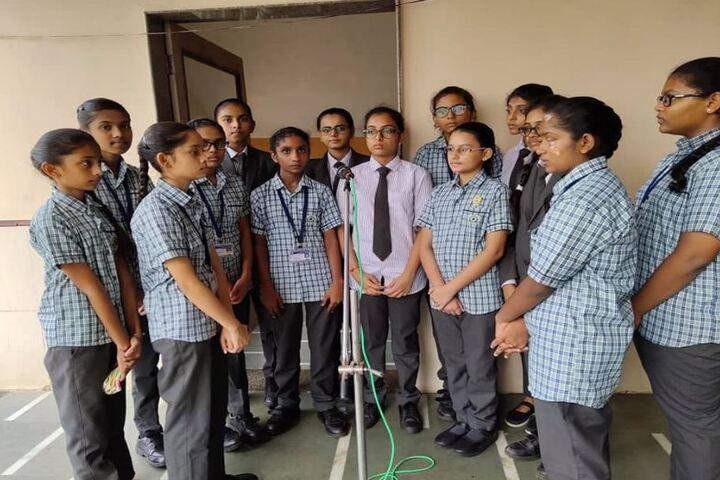Shree Radhagovind Vidyamandir-Singing