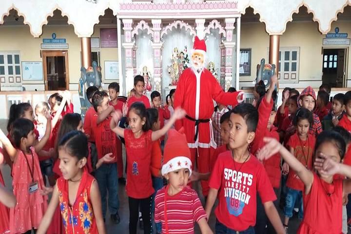 Shree Radhagovind Vidyamandir-Christmas Celebrations
