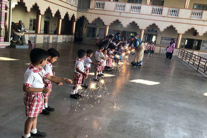 Shree Radhagovind Vidyamandir-Diwali Celebrations