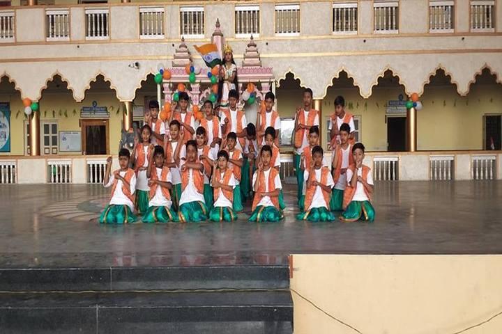 Shree Radhagovind Vidyamandir-Independence Day