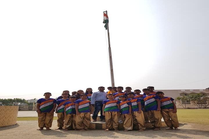 Shree Radhagovind Vidyamandir-Republic Day