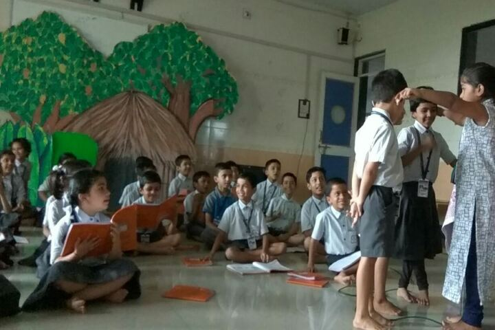Shree Swaminarayan English Medium School-Group Activity