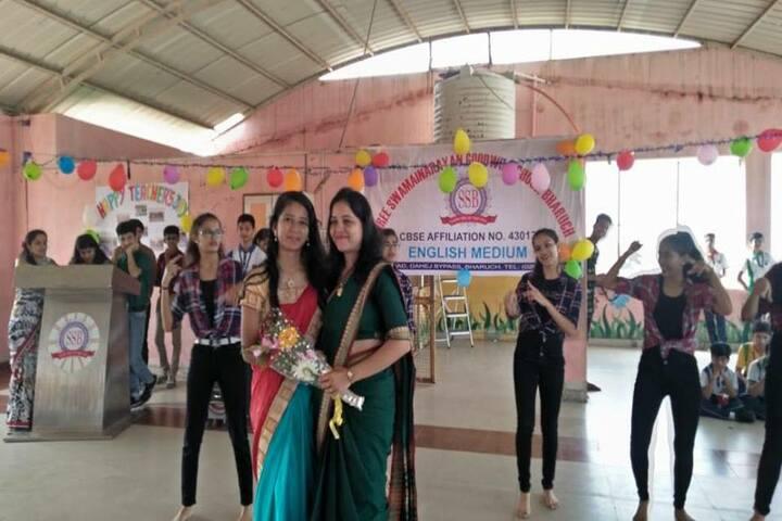 Shree Swaminarayan Goodwill School-Teachers Day