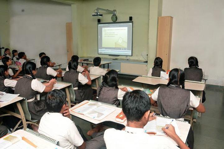 Shree Swaminarayan English Medium School-Projector Room