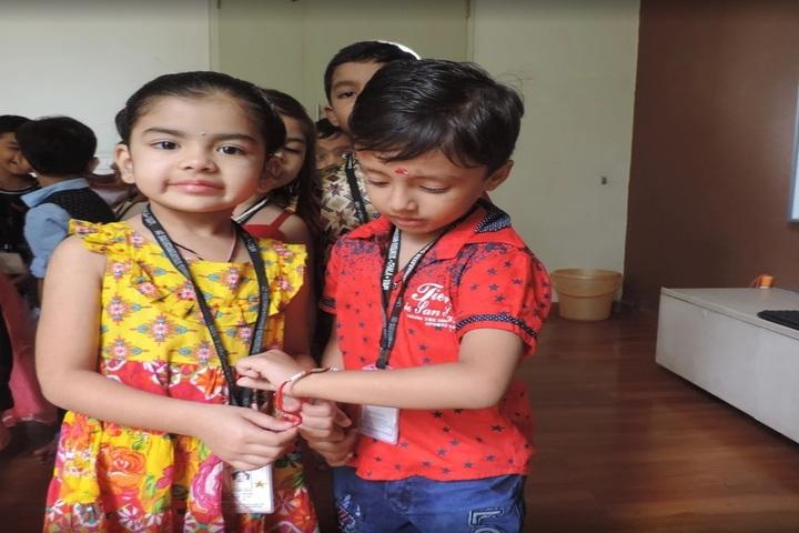 Shree Swaminarayan Gurukul-Raksha Bandhan Celebrations