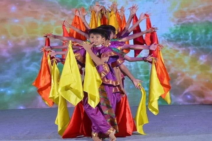 Shree Swaminarayan Gurukul Gyanbag International School-Dance