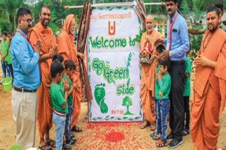 Shree Swaminarayan Gurukul International School-Go Green Event