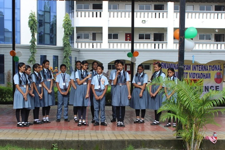 Shree Swaminarayan International Gunatit Vidyadham-Morning Assembly