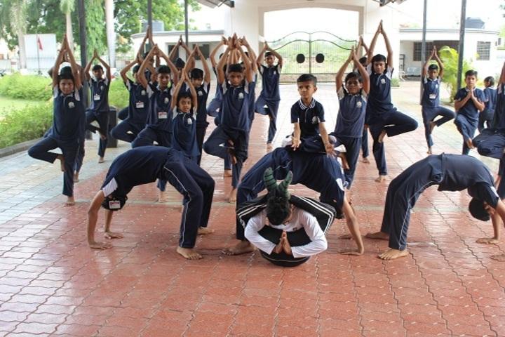 Shree Swaminarayan International Gunatit Vidyadham-Yoga Activity