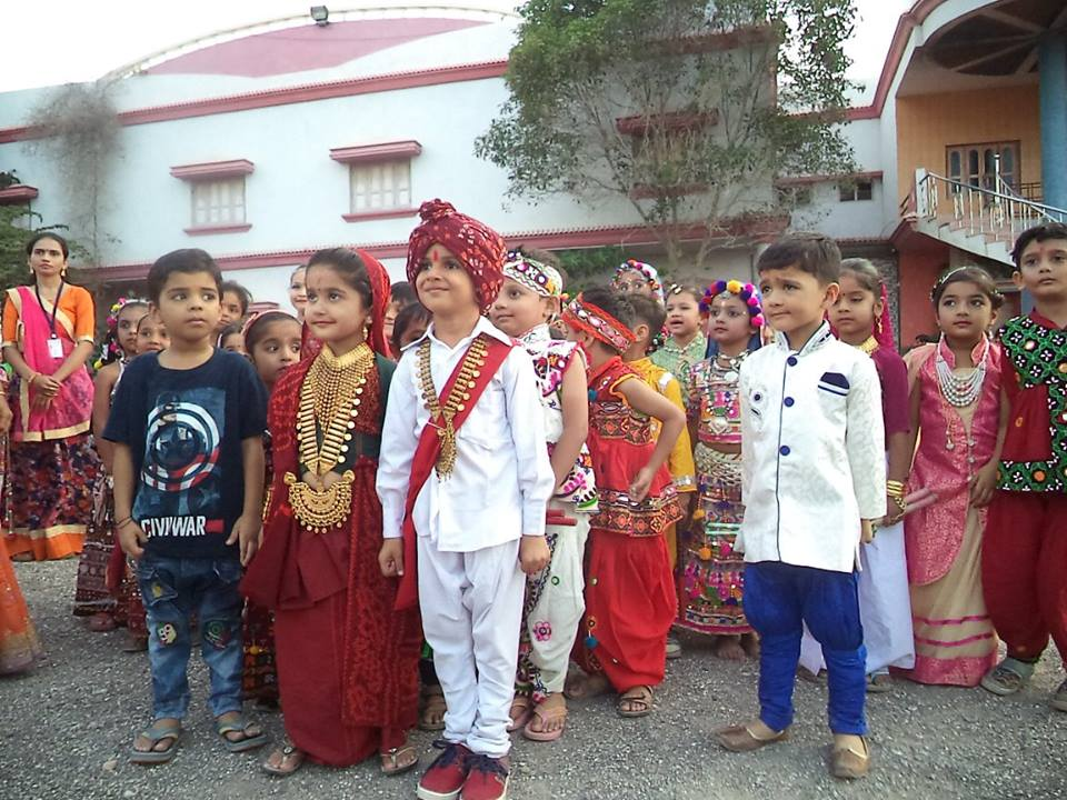 Shree Swaminarayan M G K English Primary School-Cultural Program
