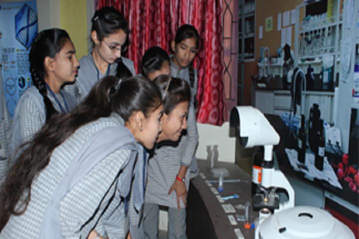 Shree Swaminarayan M G K English Primary School-Science Lab