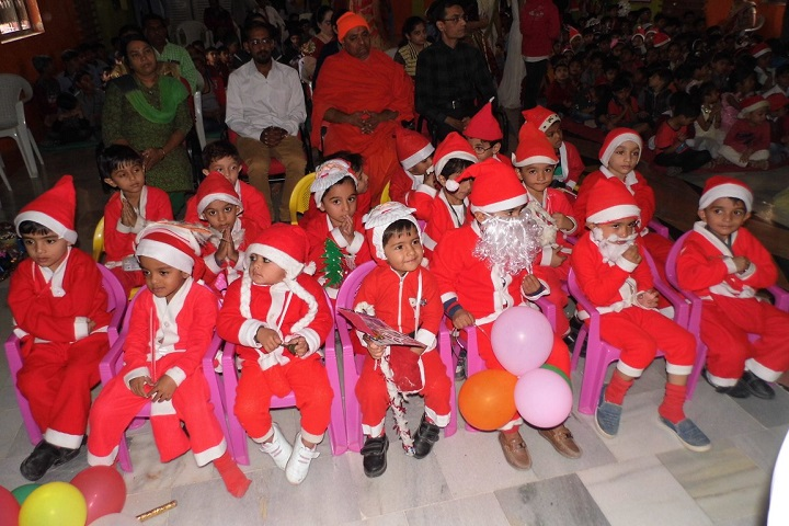 Shree Swaminarayan M G K English Primary School-Christmas Celebrations