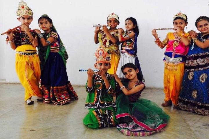 Shree Swaminarayan Public School-Janmastami Celebration