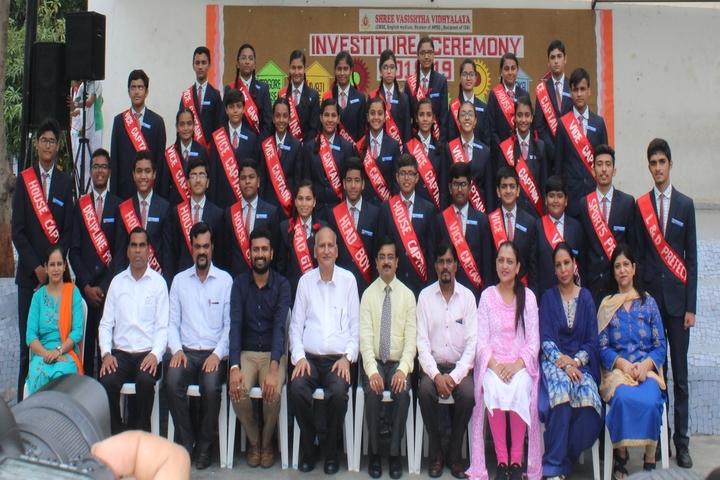 Shree Vashishtha Vidhyalaya-Investiture Ceremony