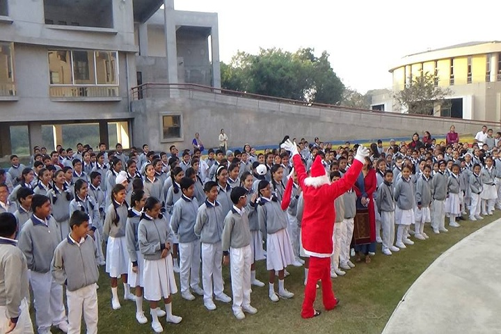 Shreevallabh Sanskar Dhams Smt. Shobhaben Pratapbhai Patel Day Boarding School-Christmas Celebration